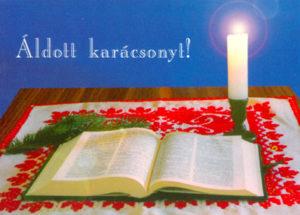 Karácsonyi, bibliás képeslapok